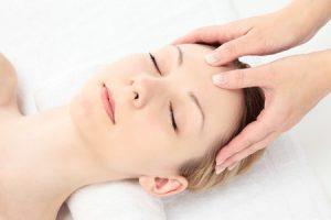 13978434 - young caucasian woman facial massage